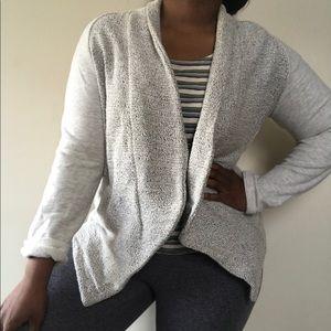 Ann Taylor drape Open cardigan sweater